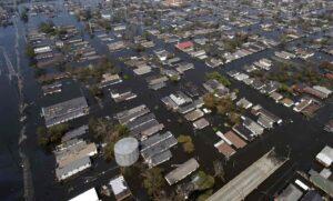 Alluvione New Orleans post uragano